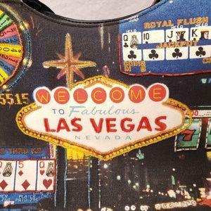 Las Vegas Embellished Handbag Fashion Purse